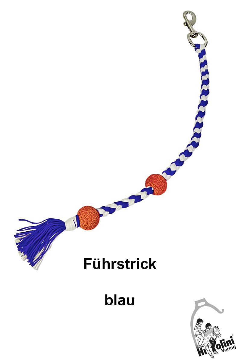 1013 Pferde-Führstrick Pony-Führstrick Blau